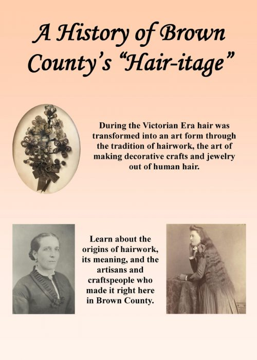 Hair art entry panel